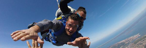 saut en parachute le week-end bordeaux