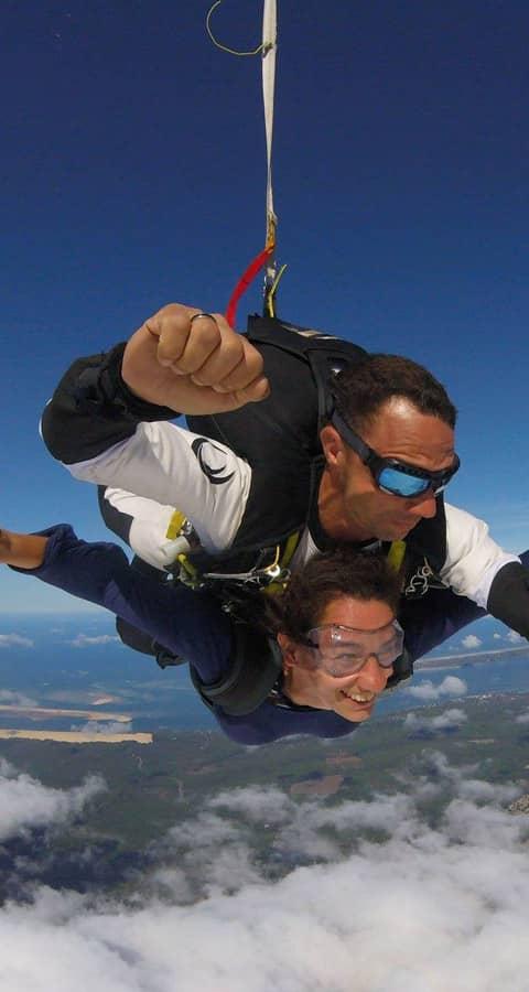 saut parachute bordeaux arcachon