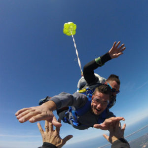 saut parachute week-end bassin arcachon