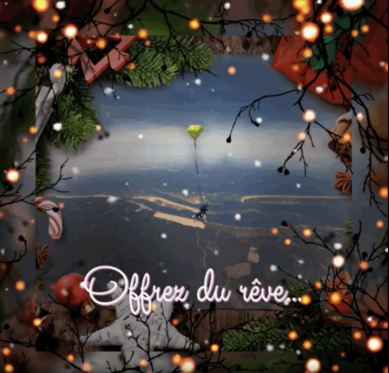 Offrez du rêve pour Noël