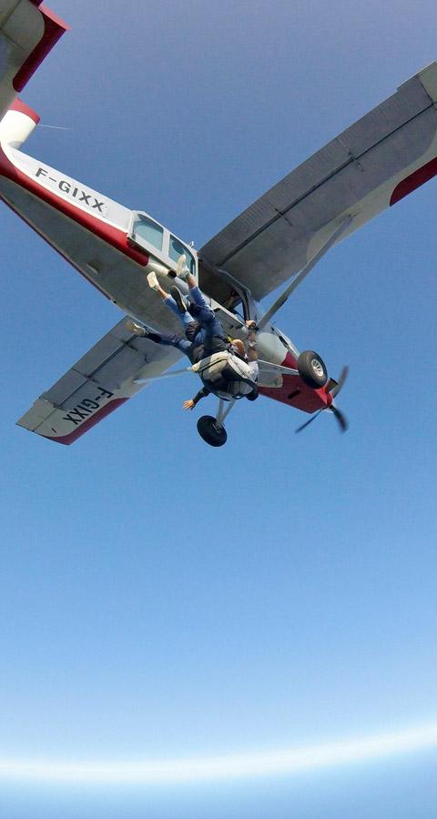 formation saut parachute aquitaine
