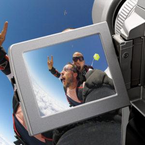 Option vidéos embarquées pour vos sauts tandem